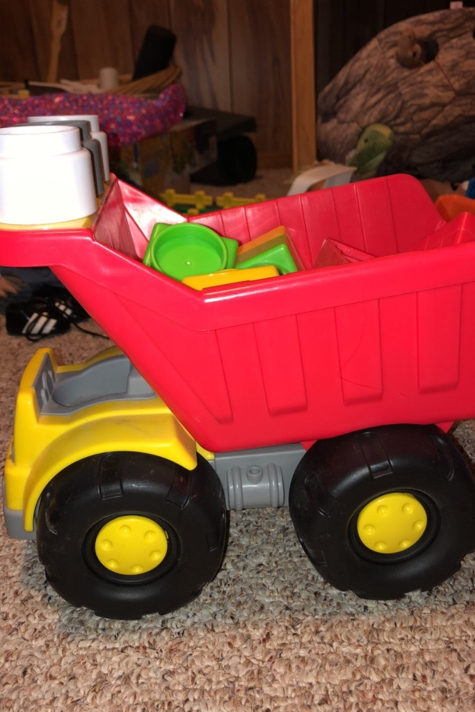 Photo Toy Fisher Price Little People Truck