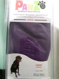 PAWZ RUBBER DOG BOOTS  Keep your dogs paws dry after a walk in the wet Vancouver, V6H 3N1