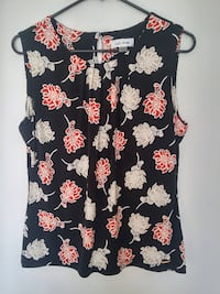 CK Floral Top L Burnaby
