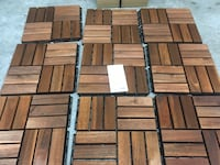 IKEA RUNNEN Decking, outdoor, brown stained (9 sq.ft / 0.81 m²), new Toronto, M5A 0E9