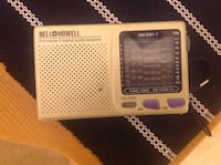 Bell&Howell vintage collectible 9band world receiver Frederick, 21702