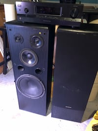 ONKYO speakers and Sony receiver