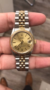 Rolex 31mm mid size two tone watch Toronto, M5N 1A3
