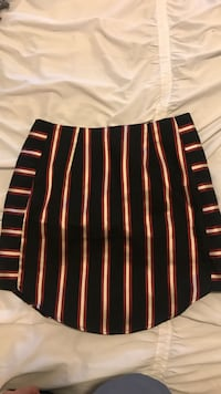Missguided striped skirt size 5
