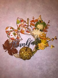 Thankful wreath Machesney Park, 61115