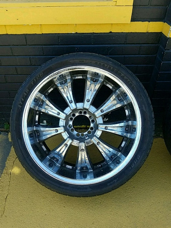 Used Tires Akron Ohio >> 24 Rockstar Rims And Tires