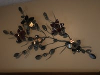 Black and gray metal wall decor very heavy  Barrie, L4N 1L9