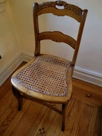Antique Cane-Bottomed Chair Forest Hills, 11375