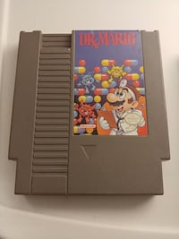 Dr Mario. Nintendo game cartridge