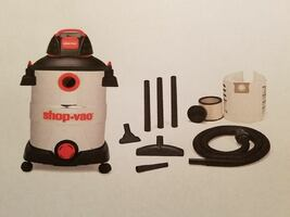 Shop Vac/6HP, 12 gallon, with blower; New in box