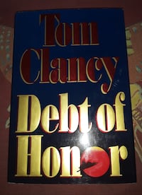 Tom Clancy Debt of Honor ( Hard cover book ).