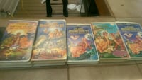 Land before Time VHS tapes