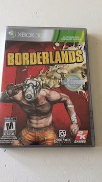Borderlands xbox 360  Bowmanville, L1C 2H5