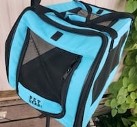 blue and black duffel bag dog or cat. Kissimmee, 34746