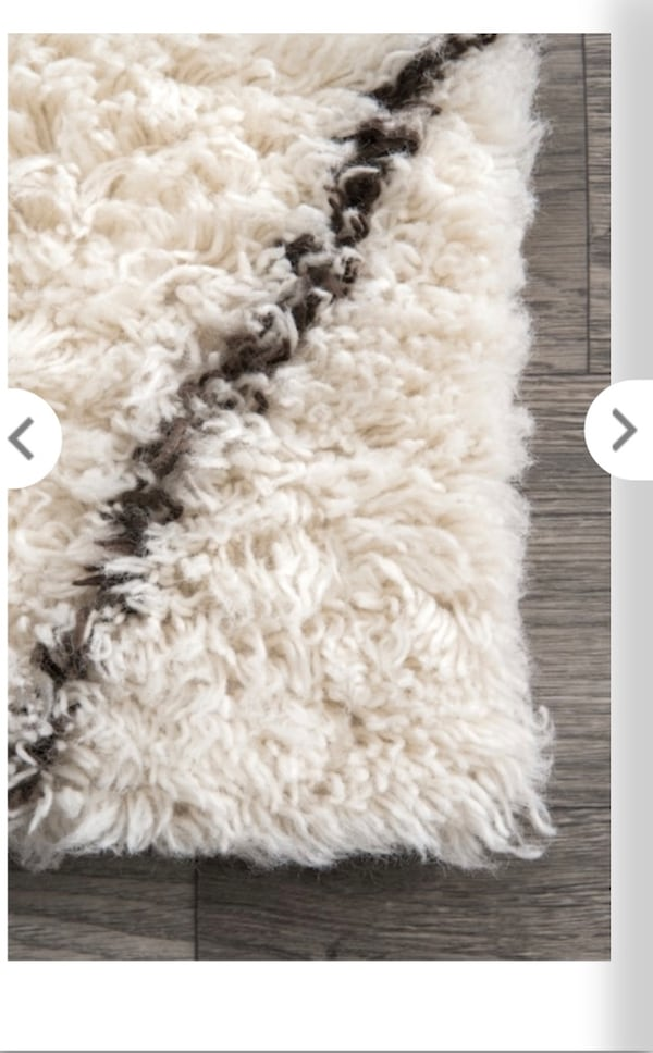 Sold Tuscan Wool Moroccan Rug In