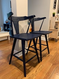 Anthropologie Counter Stools Set of 2 Collingswood