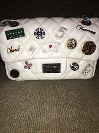 New Chanel badge purse