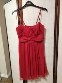 Size 12 cherry red sparkly Jessica dress, PRICE IS FIRM  2667 km