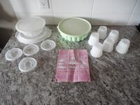 Tupperware Jello/Dessert Moulds  Morinville
