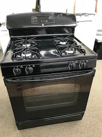 Black Ge Self Cleaning Oven Gas Stove 100 Days Warranty  Baltimore, 21222