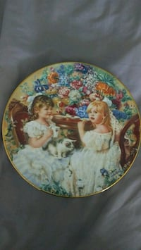 Sandra Kuck Collector Plate, the Tea Party Toronto, M9P 2K4