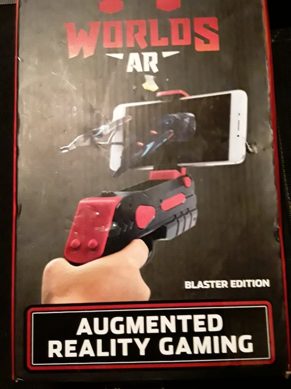 Worlds AR Augmented Reality game/ blaster edition/over 25 free games 0a2aaca4-f332-4fce-aefc-1536c9729067