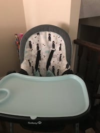 High chair (like new)) price reduced for fast pickup Milton, L9T 0M4