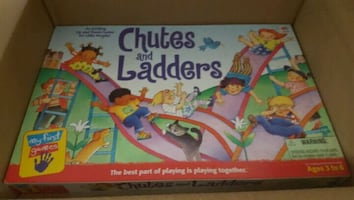 Chutes and Ladder board game 1999