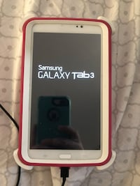 White samsung galaxy tablet 3 Deerfield, 44411