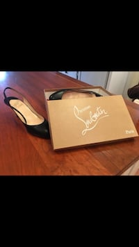 Christian Louboutin size 8 sling back pumps. Lightly used. In very good condition. Toronto, M5E 1G5