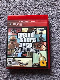 Grand Theft Auto San Andreas PS3 Germantown, 20874