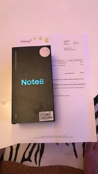 Samsung galaxy Note 8 Gold 64 Gb