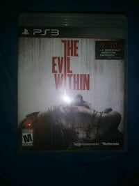 The Evil Within PS4 game case Thornton, 80260