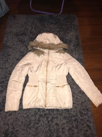 White GUESS winter coat new
