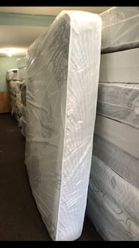 white and gray mattress in pack Laurel, 20723