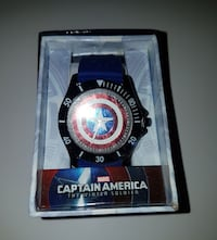 Marvel Captain America The Winter Soldier themed analog watch 860 mi