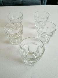 Drinking glasses set of 5  Forest Hill, 21050