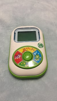 white and green Leap Frog digital activity toy Brampton, L6S 2E1