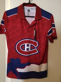 red, white, and blue Montreal Canadiens jersey shirt Lower Sackville, B4C 1C1