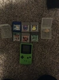Game boy color and six games all working Portage, 46368