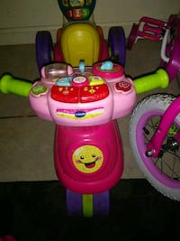 baby's pink and green activity walker Fresno, 93701