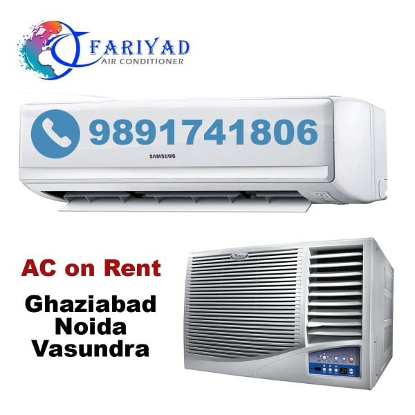 white and black window type air conditioner