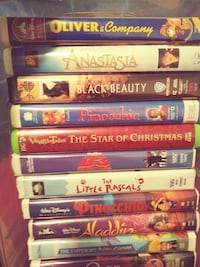Walt Disney Kids VHS Movies