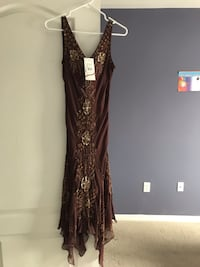 women's black and brown sleeveless dress Ajax, L1Z 0J5