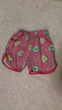 Tiger shorts for girls