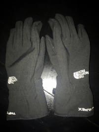 black The North Face gloves