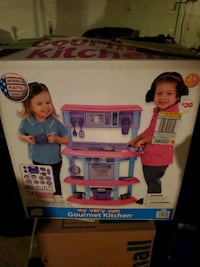 Toddler kitchen set