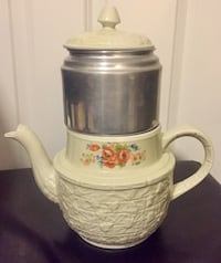 Enterprise Aluminum Co Drip-O-Lator Porcelain Coffee Pot South Brunswick Township