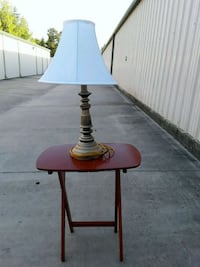black and brown table lamp Hillsborough, 27278