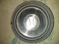 12 inch Infinity subwoofer 1200 watts and 12 inch 404 mi